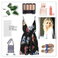"""""""Sem título #12978"""" by nathsouzaz ❤ liked on Polyvore featuring Glamorous, Tory Burch, Forest of Chintz and Maison Francis Kurkdjian"""