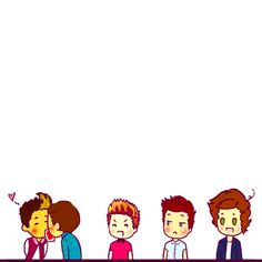 Pass the card with kisses, 1D gif