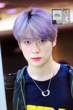 Read e i g h t e e n from the story Teman Hidup [ Jaehyun ] by chocoreoxx with 864 reads. taeyong, wayv, [ ON AIR ] Playing Song - ( The Pussycat Dol. Nct 127, Seoul, Grupo Nct, Rapper, Valentines For Boys, Jung Jaehyun, Jaehyun Nct, Purple Hair, Jung Yoon
