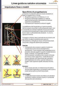 Impalcature fisse e mobili