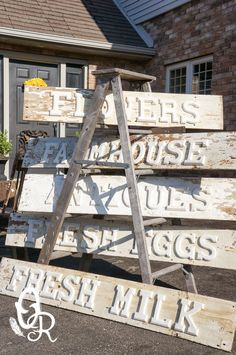 I'm going to make my own Antiques sign! - The Oliver and Rust Spring Show....that's a wrap!