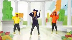 Just Dance Kids 2 - The Gummy Bear Song (Wii Rip), via YouTube. - my class has been asking for this song
