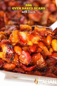 Baked Bean Recipes, Tofu Recipes, Side Recipes, Cooking Recipes, Traeger Recipes, Bacon Recipes, Keto Recipes, Baked Beans With Bacon