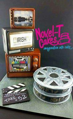 Cake I made for Irish TV's first birthday