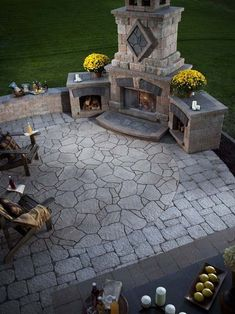 Best Fireplace Design Fireplaces are extremely dangerous. An outdoor fireplace will help to modify the look of a home and garden. Outdoor masonry fireplaces made from brick provide a conventional look. Outdoor Rooms, Outdoor Gardens, Outdoor Living, Outdoor Kitchens, Outdoor Cooking, Outdoor Entertaining, Outdoor Patios, Backyard Patio, Backyard Landscaping