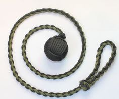 How to Make a Paracord Monkey Fist DIYReady.com | Easy DIY Crafts, Fun Projects, & DIY Craft Ideas For Kids & Adults