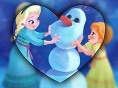 Elsa anna olaf :-)