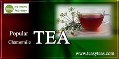 Herbal Teas, Chamomile Tea, Herbalism, Tasty, Popular, Tableware, How To Make, Dinnerware, Most Popular
