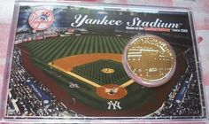 Ballpark Card and Coin Yankee Stadium, An MLB Insiders Club Exclusive