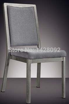 46.89$  Buy now - http://ali8mx.shopchina.info/go.php?t=32218390664 - silver grey painted aluminum hotel chair LQ-L7841 46.89$ #aliexpress