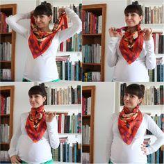 Parceria do ♥: Como Usar Lenço no Look – Benta Studio (Parte 1). Como amarrar lenços
