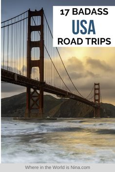 There is nothing better than a road trip, and my home country is one of the best places to road trip - there is so much to see and do in the United States, and so many options when it comes to planning a road trip. There is a US road trip for everyone no matter what you are into, and I put together this list of 17 badass USA road trips to help you decide where you want to road trip in the US.   Where in the World is Nina? #usaroadtrips #usroadtrips #roadtrips