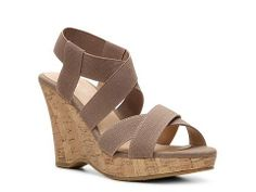 CL by Laundry Iconic Wedge Sandal | DSW