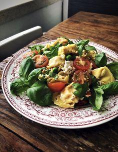 Koti, Tortellini, Tahini, Mozzarella, Pasta Salad, Pesto, Potato Salad, Salads, Potatoes