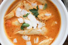 This spicy and flavorful soup is an easy way to use up leftover chicken, and makes a hearty meal. You can easily substitute shrimp for a change of pace. Print Curried Coconut Chicken Soup Course Dinner, Lunch, Main Dish Cuisine Paleo Prep Time 30 minutes Total Time 30 minutes Servings 4 Ingredients 2 tbsp olive …