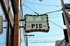 High 5 Pie, Capitol Hill, Seattle (a couple minutes drive up hill from Pike's Market), all kinds of sizes besides a big slice of pie, their pecan and apple were very good, and I was bummed they were out of coconut cream
