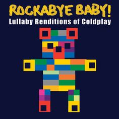 Rockabye Baby Lullaby Renditions of Coldplay available for international delivery from online kids store www.alittlebitofcheek.com.au