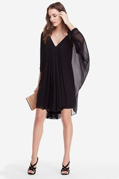 DVF Fleurette Silk Chiffon Kaftan Dress