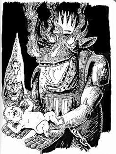The Weird Fantasy Art of Stefan Poag Dream Fantasy, Dark Fantasy, Fantasy Art, Dcc Rpg, Hatch Drawing, Classic Rpg, Dungeons And Dragons Art, Dnd Monsters, Dnd Art