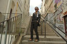 #fashion #paris #look #blackleather Black Leather, Paris, Suits, Look, Style, Fashion, Outfits, Fashion Styles, Suit
