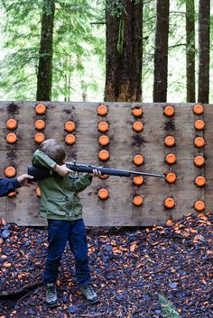 Target shooting at Clayoquot Wilderness Resort. Photo courtesy of Michael Turek Photography. Clayoquot Wilderness Resort. www.wildretreat.com