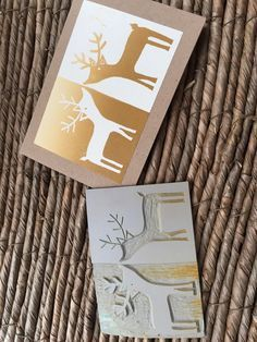 Melanie Hunt A very effective graphic design for this reindeer Christmas card. Melanie Hunt A very effective graphic design for this reindeer Christmas card. Christmas Art, Handmade Christmas, Reindeer Christmas, Xmas, Christmas Design, Jackson's Art, Linoprint, Diy Weihnachten, Kirigami