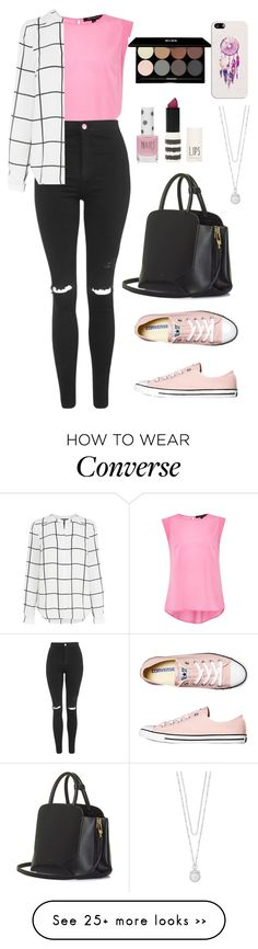 """#128 - Converse ;33"" by chocolatedreamxoxo on Polyvore featuring French Connection, Topshop, Warehouse, Converse, BEGA, Edward Bess, Casetify, The Limited, converse and CasualChic"