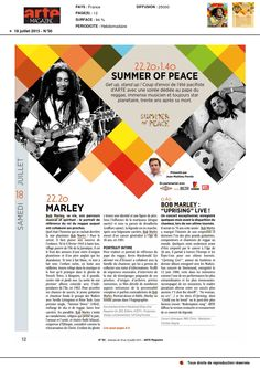 Bob Marley dans Arte Magazine le 18 Juillet 2015 (2)