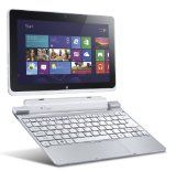 Acer Iconia W510-1422 10.1-Inch 64 GB Tablet with Keyboard Dock (Silver)