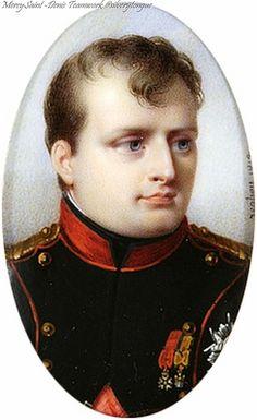 Napoleon Bonaparte by Jean-Baptiste Isabey (1813).