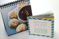 My Digital Studio | Small-scale printed recipe books; Stampin' Up!