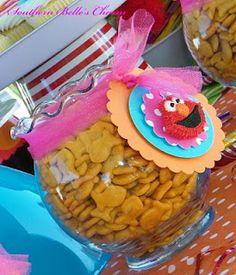 Elmo Loves His Goldfish :)