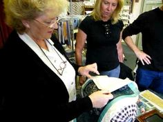 Kenmare Lace Demonstration by Nora Finnegan - YouTube. History & Demonstration - Demo starts at about 3:15 in.