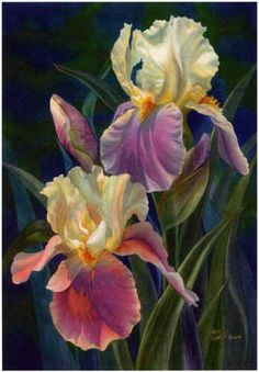 Pintura. Flores ...
