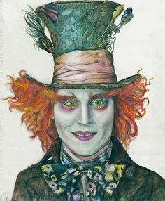 *THE MAD HATTER ~ Alice in Wondrland