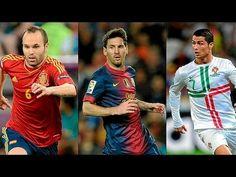 Messi v Ronaldo v Iniesta