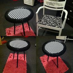 Dirtbike tire table by BMPRODUCTS on Etsy
