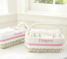 Pink Harper Nursery Storage #pbkids