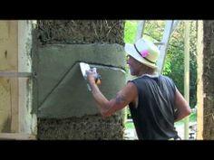 ▶ Tom Rijven - základy zdobení na hrubé omítce - YouTube