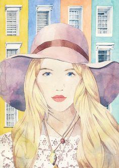 Faces - marcel george illustration
