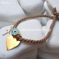 Μαρτυρικά βάπτισης βραχιολάκι,μεταλλική καρδούλα Wedding Favors, Charmed, Bracelets, Jewelry, Fashion, Leather, Necklaces, Bracelet, Accessories