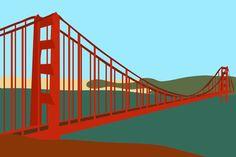 Golden Gate Bridge Golden Gate Bridge, Peonies, Stairs, Wood, Ladders, Stairway, Staircases, Stairways, Paeonia Lactiflora