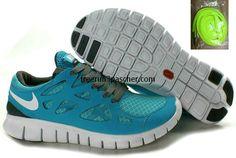 Sale Cheap Womens Nike Free Run 2 Gray Jade Shoes Fashion Shoes Shop