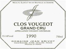 "GrapePip Auction: 2002 Clos Vougeot, Jean Grivot. Lot live in September 2014. £1,170 in bond a dozen opening bid. ""Ripe, sweet, gamy and very earthy pinot fruit aromas blend into mouth coating, suave, deep and impressively scaled and concentrated flavors that display plenty of power and a certain textured chewy quality on the explosively long but austere back end. Terrific quality with superb underlying material."" Burghound"