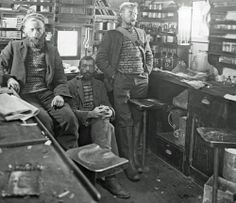 1902-1904 Scottish National Antarctic Expedition: The laboratory on the Scotia, 1902-04