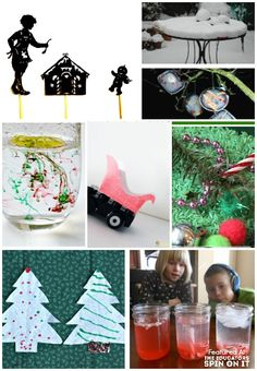 Science Experiments for Christmas including STEM ideas