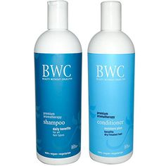 Beauty Without Cruelty Moisture Plus Premium Aromatherapy Shampoo and Conditioner Bundle For Dry or Treated Hair With Aloe Vera Ylang Ylang Rosemary Chamomile Sage and Horsetail 16 fl oz each * Click image for more details.