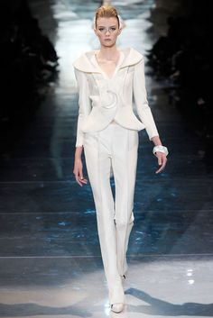Armani Privé Spring 2010 Couture Collection Slideshow on Style.com