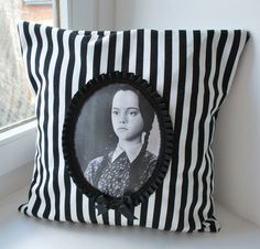 Wednesday Addams Pillow