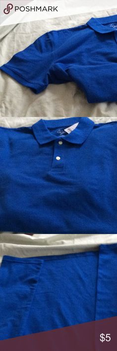 Polo Shirt Blue men's polo shirt - X Large. New. City Streets Shirts Polos